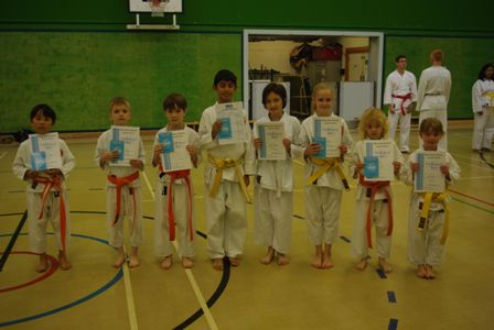 New Junior Red/White to Green Belts