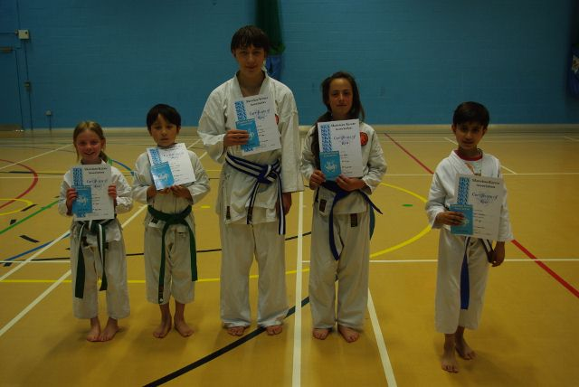 New Junior Blue and Purple Belts