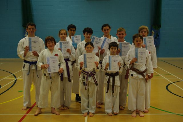 New Adult and Junior Purple to Brown/White Belts