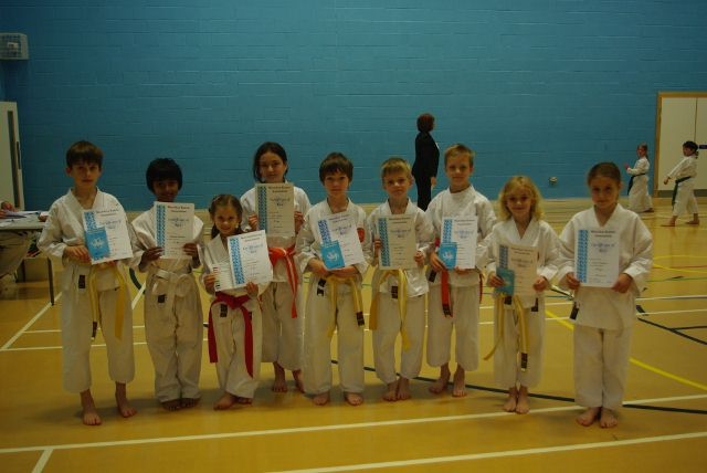 New Junior Red to Green Belts