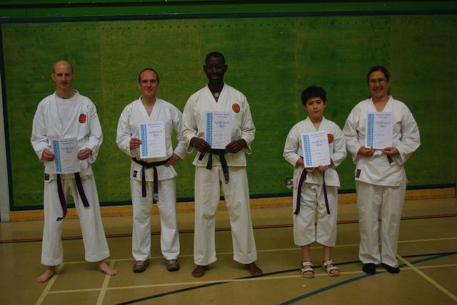 New Senior Belts