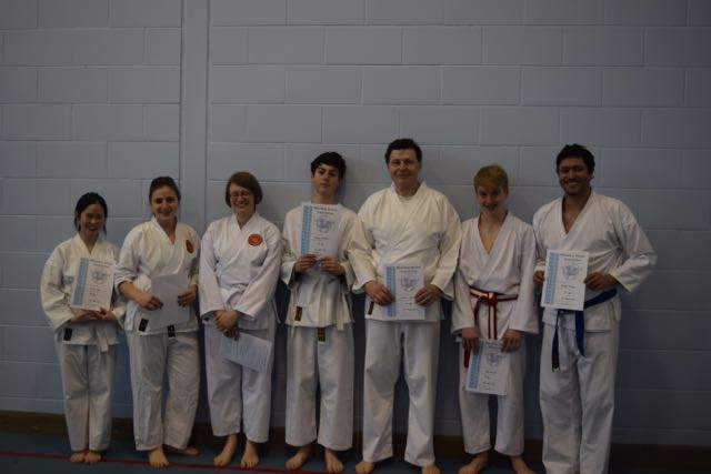 New Adult Red to Purple Belts