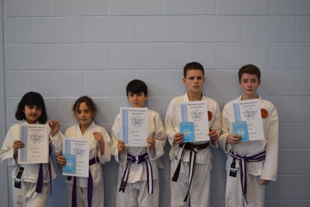 New Junior Purple to Brown Belts
