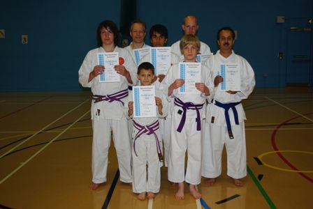 New Adult and Junior Purple to Brown Belts
