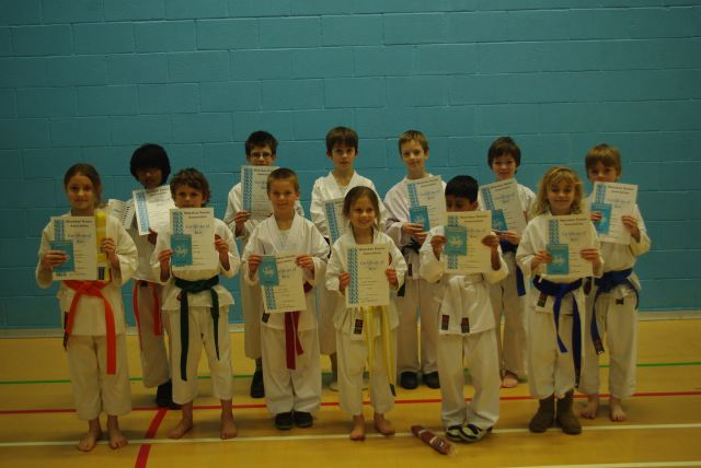 New Red to Blue/White Belts