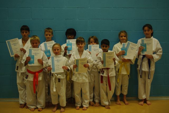New Junior Red to Purple Belts