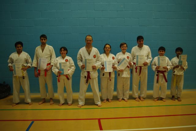 New Adult and Junior Orange to Green Belts