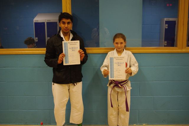 New Adult Brown/Red Belt and Junior Purple/White/Brown Belt