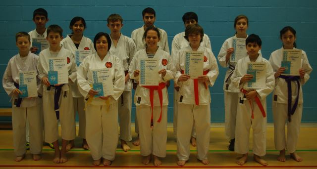 New Adult Orange to Brown/Black Belts