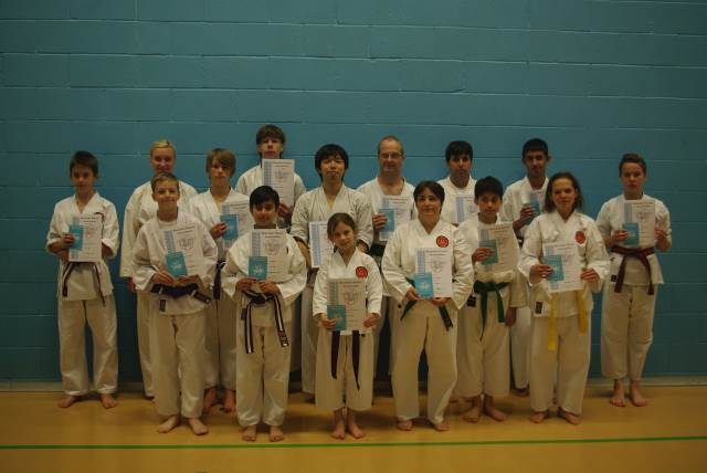 New Junior and Senior Blue to Brown/Black Belts