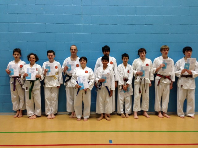 New Junior and Senior Green to Brown/Black Belts