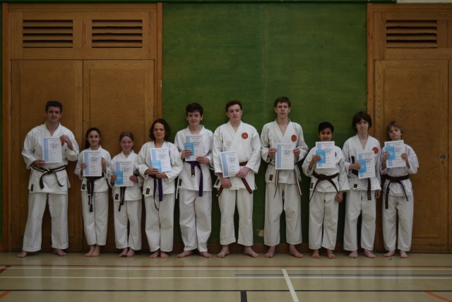 New Adult and Junior Purple/White to Brown/Red Belts