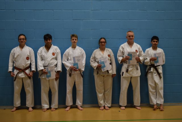 New Adult and Junior Brown to Black Belt