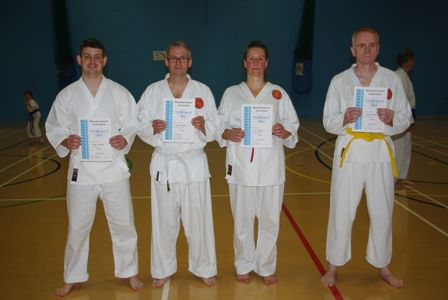 New Adult Red to Green Belts
